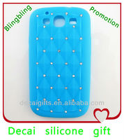2013 Customized Rhinestone bling cell phone case cover