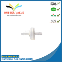 silicone 1/8 mini industrial non return gas inlet valve