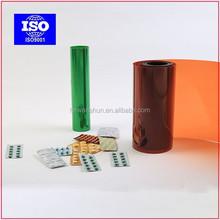 clear rigid heat shrink pvc film for vacuum forming manufacturer