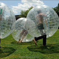 Clear Fighting Sporting Bumper Ball PVC Inflatable Bumper Ball