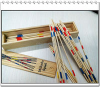 hot famous in wooden stick box toys board game for kids pick up sticks game