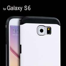 Rugged PC + TPU Hybrid case Tough Armor Outer Box Shockproof cover case for Samsung Galaxy S5 S6 slim armor