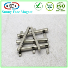 hot sale nickel plated neodymium magnet bar
