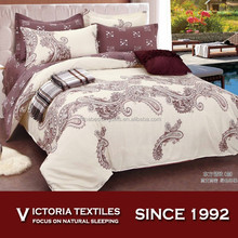 luxury pattern printed 12868 pure cotton quilt duvet cover sets complete bed linen sets all sizes