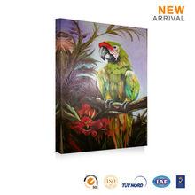 Wholesale Wall Decoration Artist Bird Oil Painting Artist