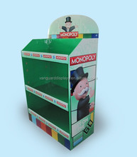 Custom Point of Sale Cardboard Supermarket Floor Display Stand