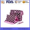 cheap diaper bag with bow fashion polka dot printed diaper bag