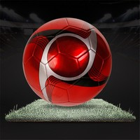 Professional official size sporting football,pu machine stiched football