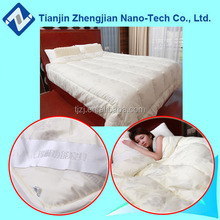 Warm magnetic fashion printing thick winter bed quilts