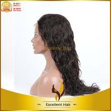 Chegada nova curly cor # 1b indiano virgem do cabelo humano peruca feminina