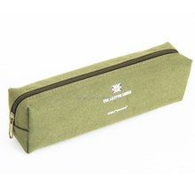 Fashion Stationery Pastoral Sackcloth Pen Pencil Makeup Case Canvas Bag/ Canvas Pencil Bag