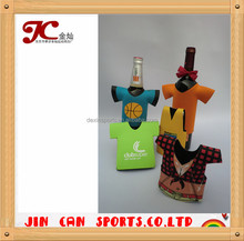 Promotional logo printing neoprene beer can cooler