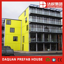 Daquan brand NEW design prefab shipping container house/folding water container 40ft container home