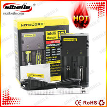 HOTTEST!!! Nitecore Intellicharge i2 smart battery charger 18650