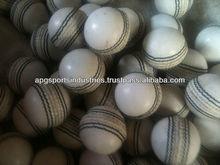 White Promotional Leather Mini Cricket Balls