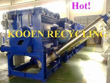 plastic waste recycling plant
