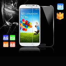 VMAX Factory Supply High Clear 0.26/0.33mm Japanese Asahi AF Coating Tempered Glass Screen Protector for Samsung Galaxy S4