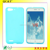 Free Sample Soft TPU Pudding Case Cover for ZTE blade V6