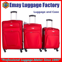 2015 Newest Designed Built-in Trolley luggage and case