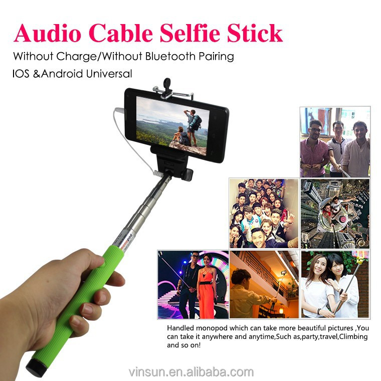 hk amazon phone camera selfie tripod cable take pole selfie stick buy cable. Black Bedroom Furniture Sets. Home Design Ideas