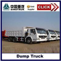 Heavy duty truck dump with standard dimensions