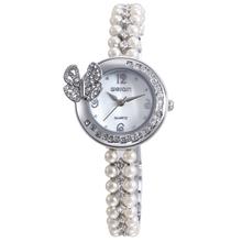 Alibaba Express Hot Sale Fashion Butterfly Diamond Wrist Watch