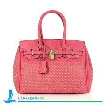 High Design Handbags nubuck Leather Women Bags