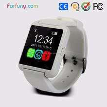 Item u80 smart watch work with smart phone by bluetooth