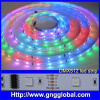 digital programmable rgb led strip waterproof ws2801 ws2811 ws2812b led light swimming pool rope light