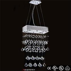 high quality golden crystal lamp zhong shan