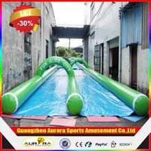 Hot selling excitting 1000 ft slip n slide inflatable slide the city cheap on sale