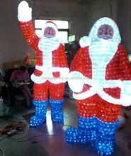 Xianrui waterproof lighting christmas decoration outdoor santa