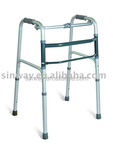 One handed aluminum side walker
