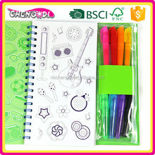 Hot Style children activity color sample book