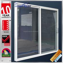 Australia AS2047 standard commercial system double glass villa aluminium main door