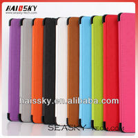 folder leather case for ipad