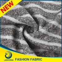 Best selling Small MOQ Knit cotton cvc tc single jersey fabric forfashion sweater