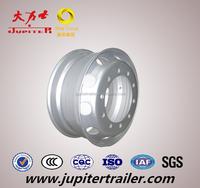 8.25x22.5 Silver Steel Wheel Rim