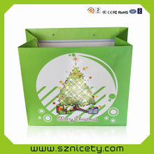 LED bags for promotion/flashing LED paper bags