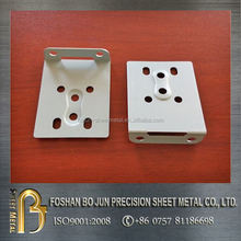 Custom white powder coated metal part made in china, new product steel part fabrication