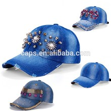 Diseño moda Denim sombreros / Hip Hop Cap venta