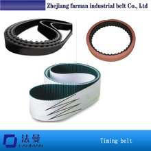 High Quality Green Color Fabric Pu Open End Timing Belt
