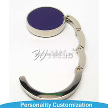 2015 Most Popular Metal Key Chain Sublimation a round circular matte key chain