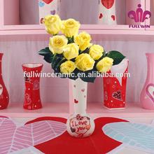 Florero de cerámica, de la moda moderna florero