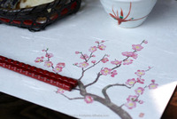 Beautiful paper place mat for Japanese style dinner set