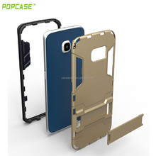 Slim armor case with stand for samsung galaxy s6 edge