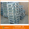 Aceally Warehouse Galvanized Stackable Storage Container Metal Wire Cage