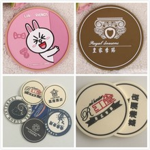 customized soft pvc cup pad/coaster