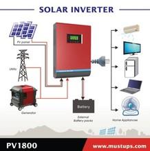 PV1800 Solar inverter/High quality dc to ac 2000VA 2kva Solar inverter