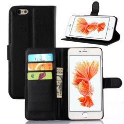 For iPhone 6s Leather Wallet Case